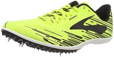 Brooks Mach 18, Chaussures de Running Homme, Multicolore (Nightlife/Brooksbriteblue/Blac), 40.5 EU