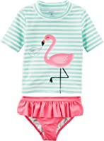 Carter's Baby Girls' Two Piece Swimsuit