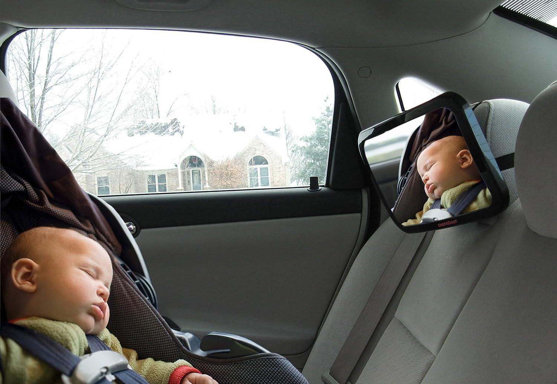 Amazon.com : Baby Car Mirror - Super-Sized Rear Facing Baby Mirror