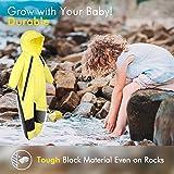 HAPIU Kids Toddler Rain Suit Muddy Buddy Waterproof Coverall,Yellow,12M,Original