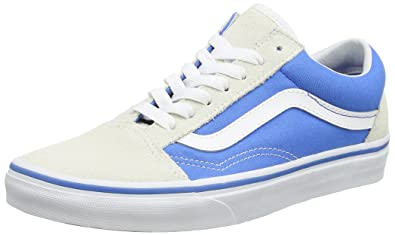 vans old skool french blue true white