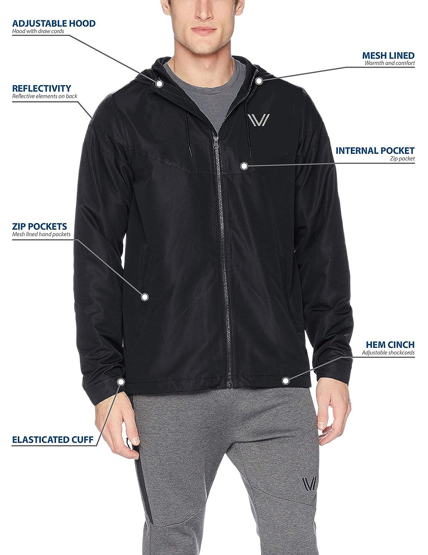 Brand Peak Velocity Mens Zephyr Windbreaker Loose-Fit Jacket A18JKT01