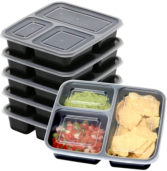 Top 9 Food Prep Containers 7 Pack