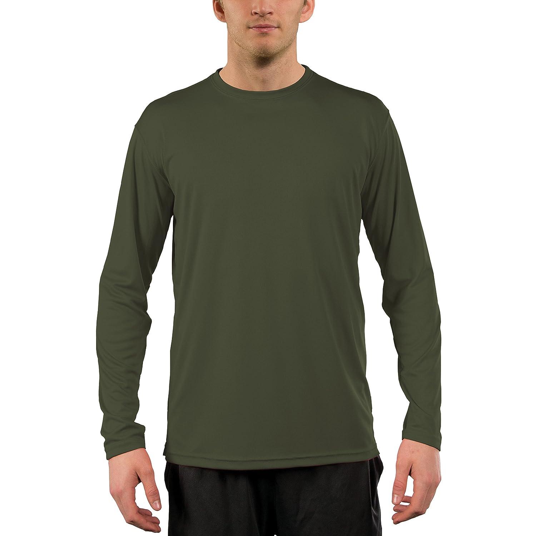 Vapor Apparel メンズ UPF 50+ UV /サンプロテクションロングスリーブTシャツ B01M5DLES6 XXL|ハンターグリーン ハンターグリーン XXL