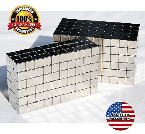 Amazon.com: Square cubeta imanes (~ 6 mm) Soporte Magnético ...