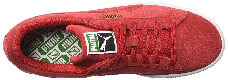 PUMA Adult Suede Classic Shoe B071KCPJG8 13 M US High Risk Red
