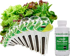 AeroGarden Heirloom Salad Greens Seed Pod Kit, 9