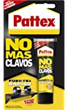 Pattex No Mas Clavos, adhesivo multimaterialy resistente, color blanco, 100 gr