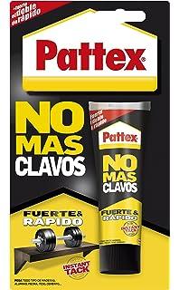Pattex No Más Clavos Click&Fix, adhesivo de montaje de fácil ...