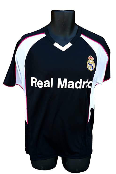 Real Madrid Soccer Official Adult Soccer Training Performance Poly Jersey  Rhinox-P001 Medium d4efe1615