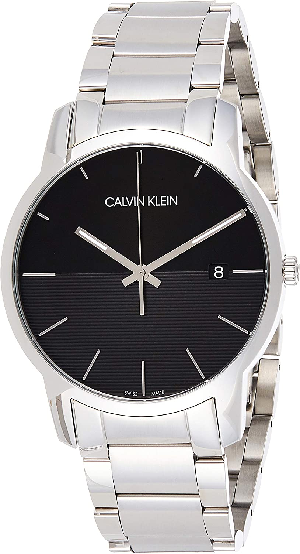 Calvin Klein Reloj Analógico para Hombre de Cuarzo con Correa en Acero Inoxidable K2G2G14C