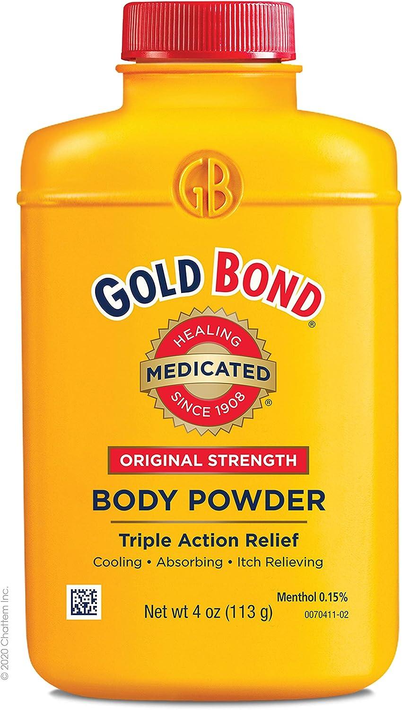Gold Bond Medicated Body Powder Original Strength 4 oz: Health & Personal Care