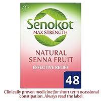 Senokot Max Strength Senna, 48 Tablets