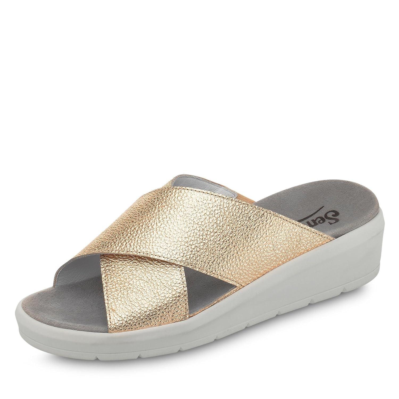 Semler K5045-017-008 Karen Mujer Clogs & Mules Ancho H 8 UK|Dorado