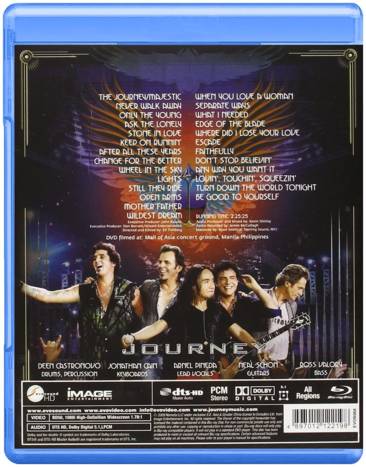 journey live in manilla region all blu ray amazon co uk journey live in manilla region all blu ray amazon co uk journey dvd blu ray