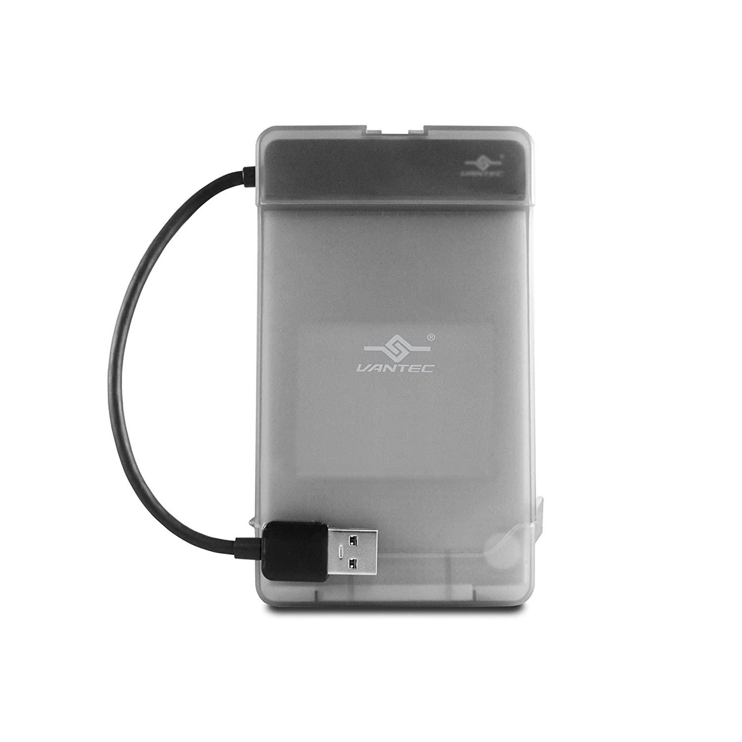 Vantec CB-STU3-2PB USB 3.0 to 2.5 inch SATA Hard Drive Adapter w/ Case