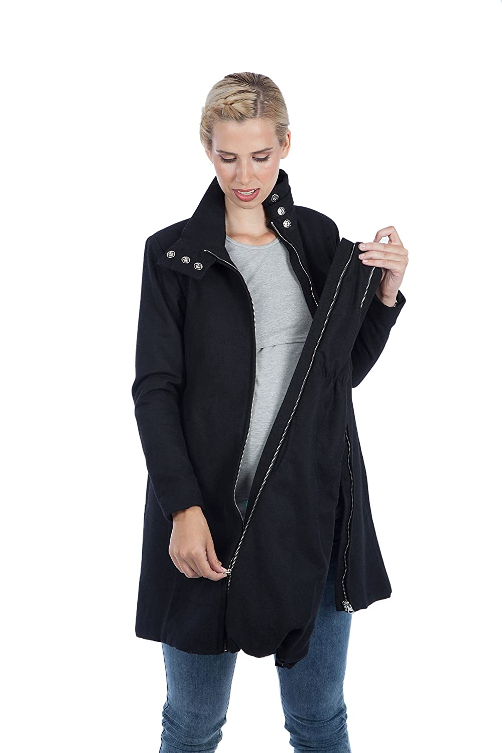 Maternity A-Line Wool Coat Lauren - Modern Eternity at Amazon Womens Clothing store: