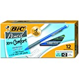 BIC Matic Grip Mechanical Pencil, Fine Point (0.5 mm), 12-Count