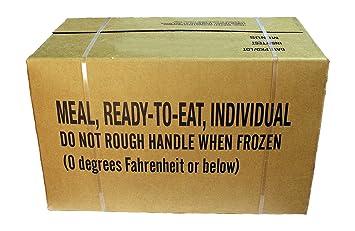 MRE Meals Ready to Eat - Comida preparada, raciones EE. UU., EPA, A o B: Amazon.es: Deportes y aire libre
