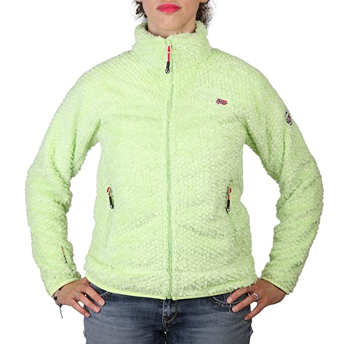 Geographical Norway Upset womana Anis Pull Sweatshirt Veste Polaire Taille S 448565bed3a5