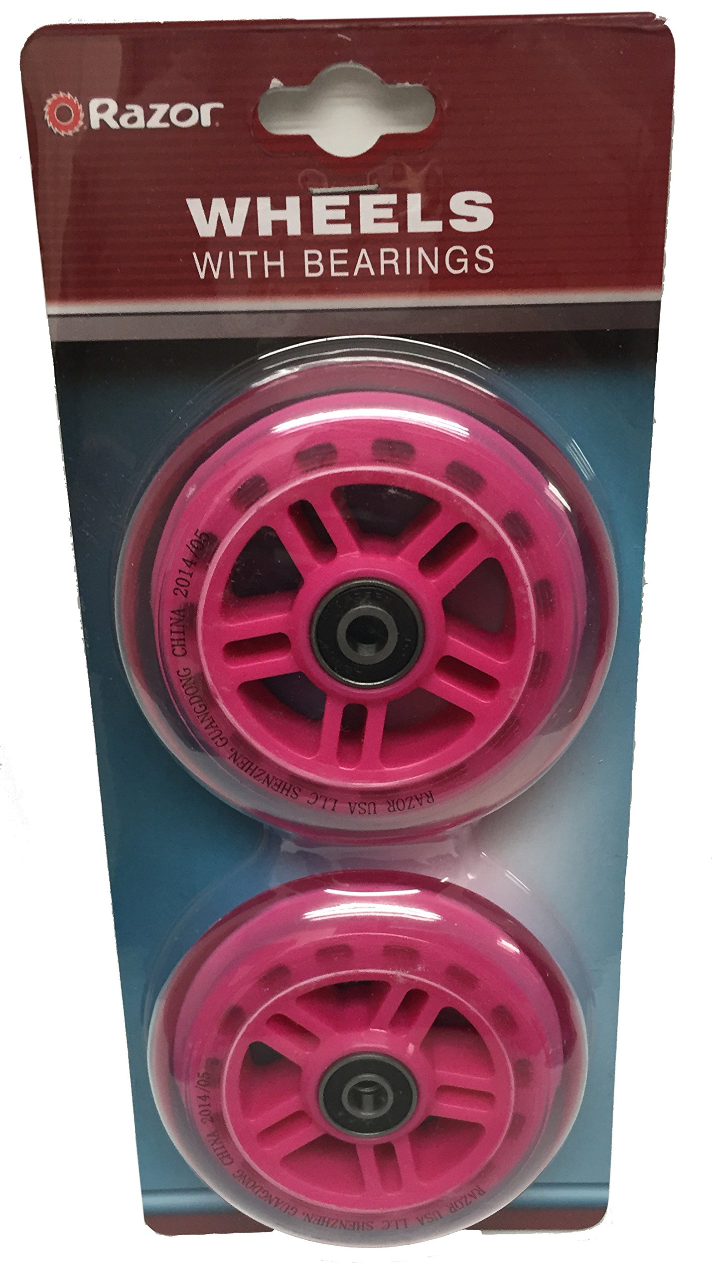 Replacement Wheels (Pink)