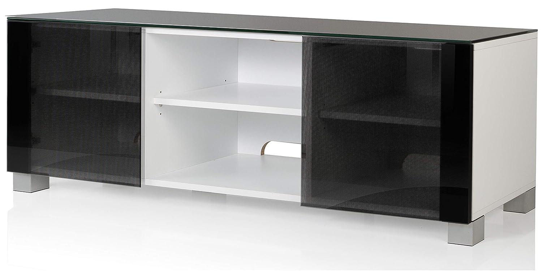 VCM Luxala – Mueble TV, Madera, Blanco, 50 x 150 x 45 cm: Amazon ...