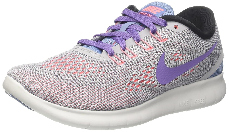 161dd6e0 Amazon.com   NIKE Women's Free Rn Distance Running Shoe (5.5 B US, Wolf Grey /Purple Earth/Work Blue)   Road Running