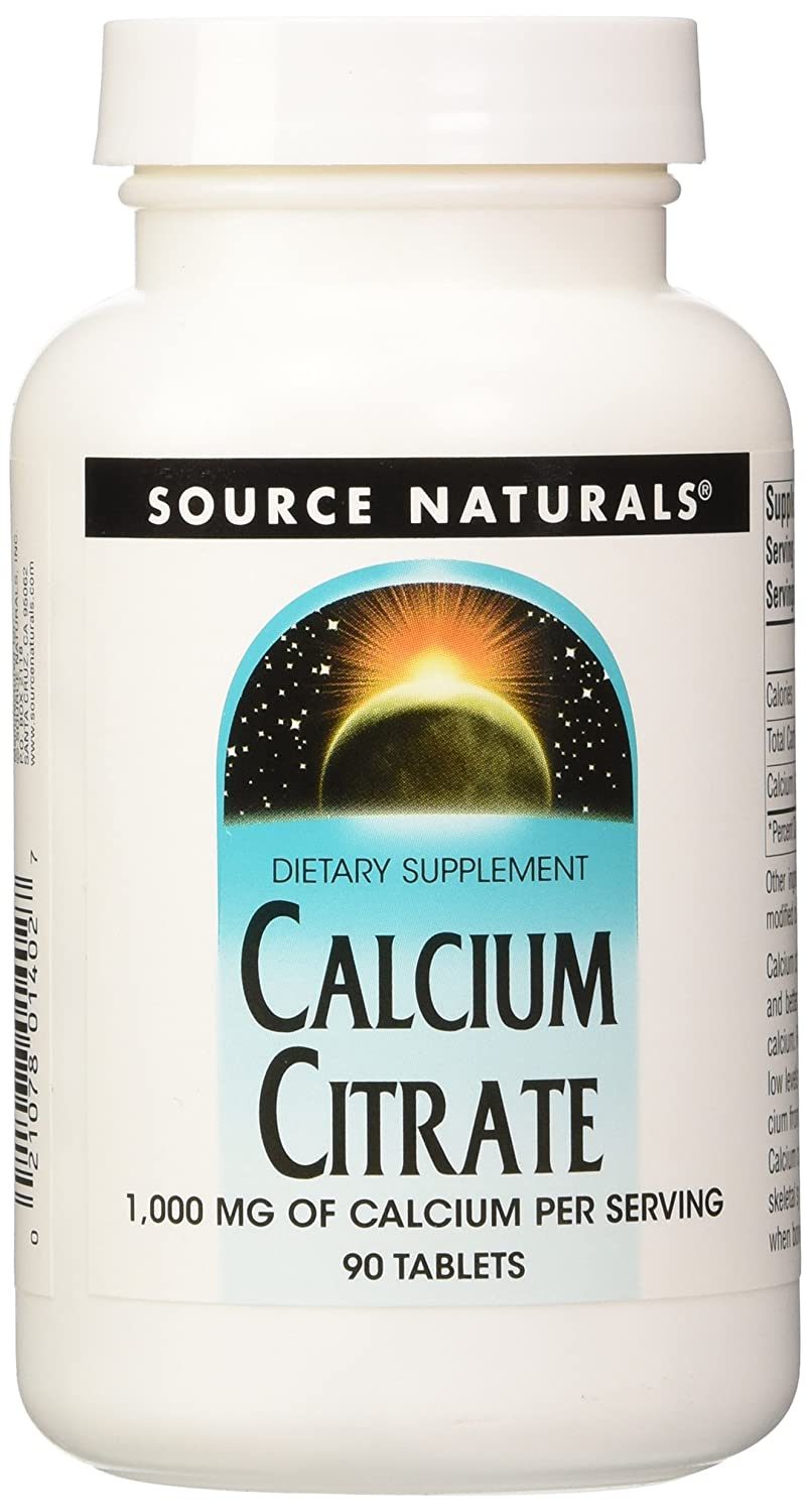 Source Naturals - Calcium Citrate 333Mg 90 Tab: Amazon.es: Salud y ...