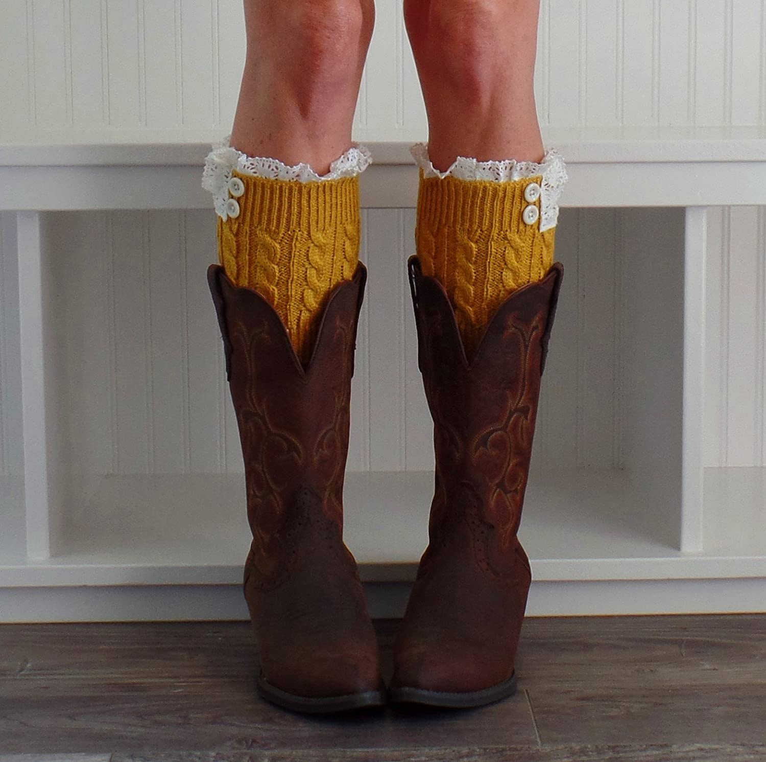 Knit Boot Cuffs, Boot Toppers, Uptown Girl Co