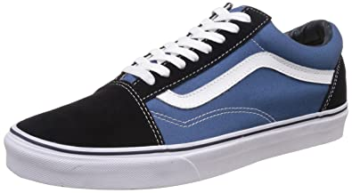 Vans Unisex Old Skool Leather Sneakers  Buy Online at Low Prices in India -  Amazon.in 74f97817cd2a