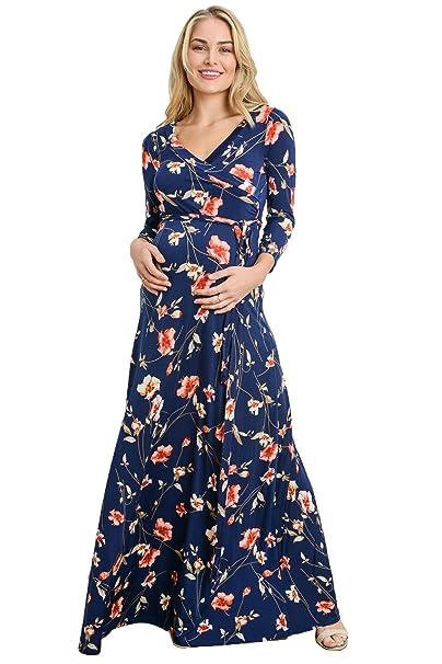 ef6f7a556 LaClef Vestido de maternidad para mujeres  Amazon.es  Ropa y accesorios