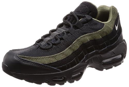 8dbbeaaaeac0e2 Nike Men s Air Max 95 Hal Shoe Black Cargo Khaki Flt Silver (9.5 D(M ...