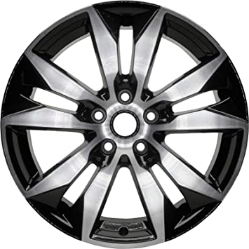 Partsynergy Replacement For New Replica Aluminum Alloy Wheel Rim 18 Inch Fits 2016-2018 Nissan Maxima 5-115mm 10 Spokes