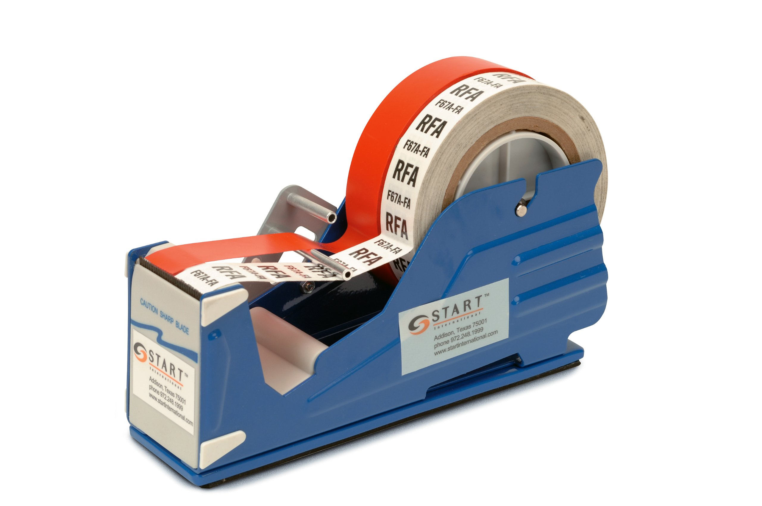 START International SL7326 Multi Roll Tape Dispenser with Baked Enamel Finish, 9.37'' Length x 2.750'' Width x 5.250'' Depth
