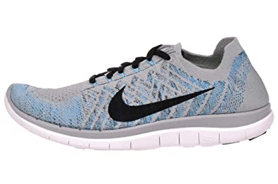 big sale 9bb0a b88d8 Nike Free 4.0 Flyknit sz. 12 Men's Running Shoes Grey/Blue ...