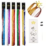 40'' Hair Tinsel 1000 Strands Ten Color ?Sparking Gold, Green, Hot Pink, Rainbow, Champagne Gold, Crimson, Sky Blue, Sapphire Blue, Silver, Violet)