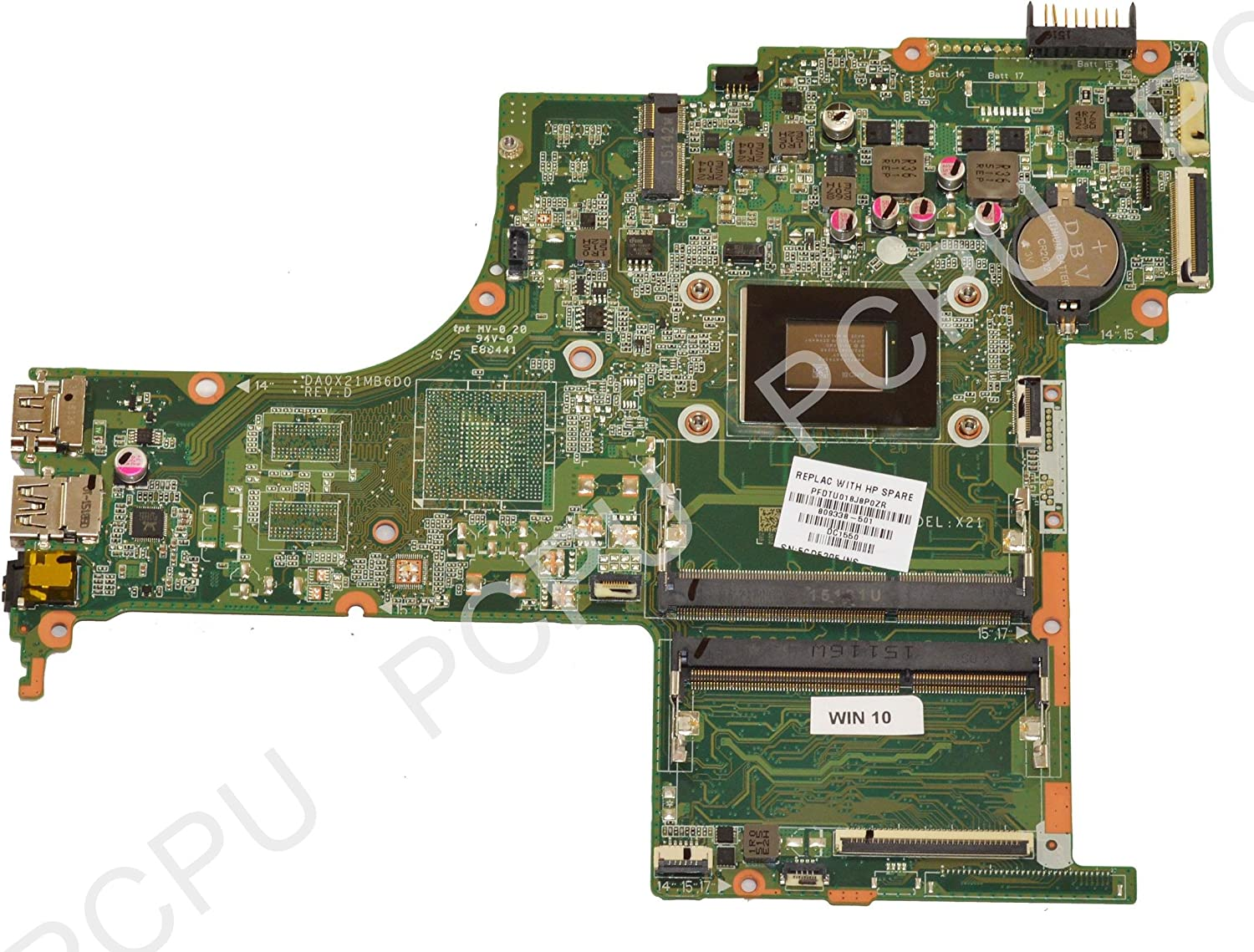 809338-501 HP 15-AB Laptop Motherboard w/AMD A10-8700P 1.8Ghz CPU