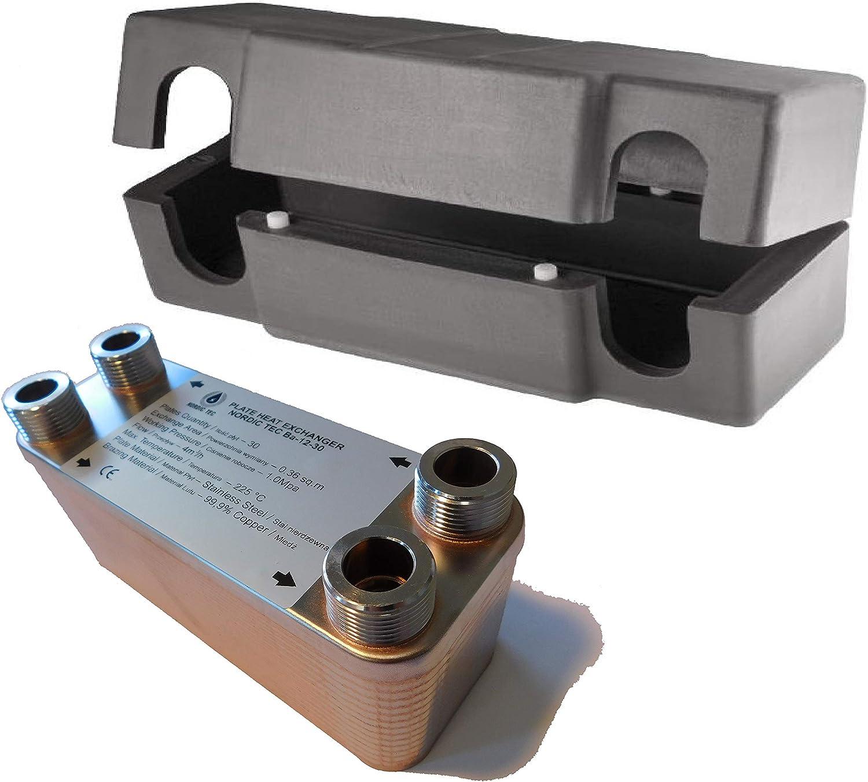 Gedore 1646923 Juego de vasos de impacto para coches 1//2 5 pzas 10-24 mm