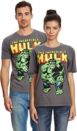 Logoshirt Marvel Comics - Hulk Camiseta 100% algodón ecológico ...