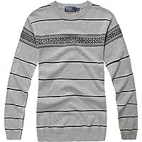 fanhang Men's Cotton Pullover Sweater Knitwear