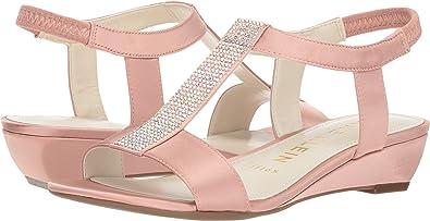 c13e9bdd3b1 Anne Klein Women's Molly Light Pink Satin 5 M ...