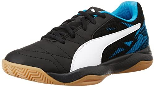 427aaeebbeab9d Puma Boy s Veloz Indoor III Jr Puma Black