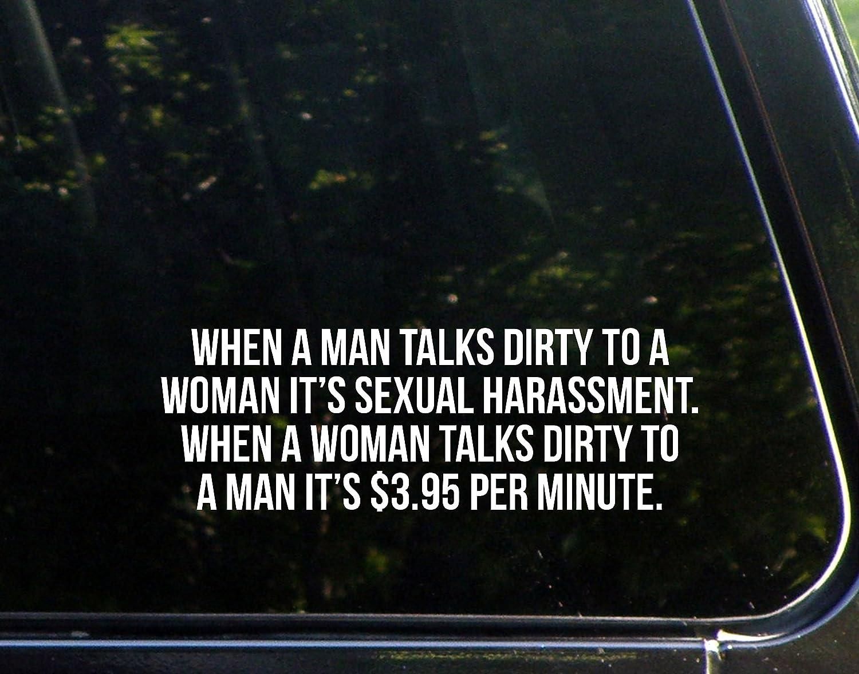 春夏新作 男がTalks Dirty To A Woman itのセクハラ。When/4 a Woman