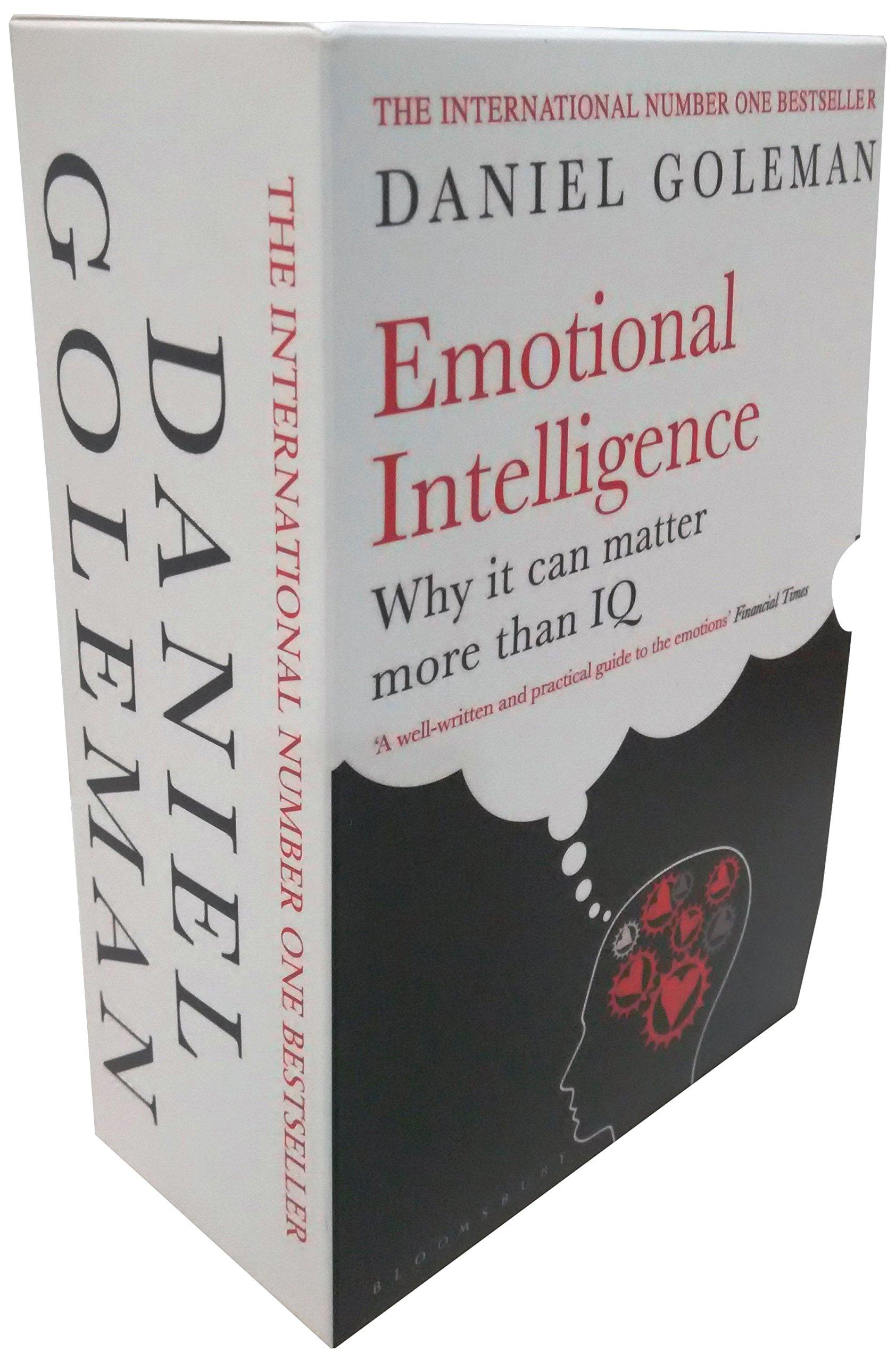 Image result for emotional intelligence book Daniel Goleman