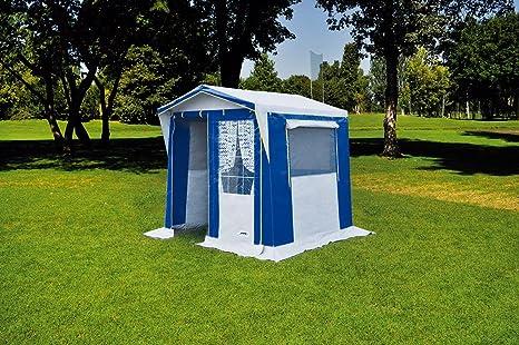 Tenda campeggio da cucina multifunzione oxford con finestre con