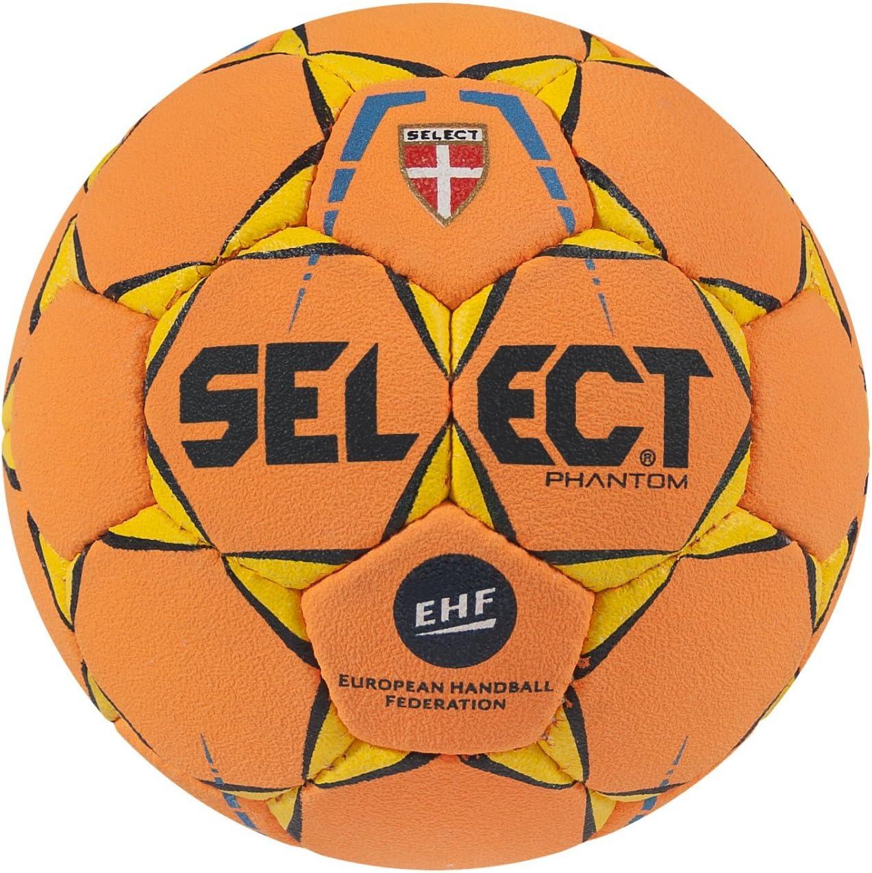 SELECT Phantom – Balón de Balonmano, Color Naranja, tamaño 1 ...