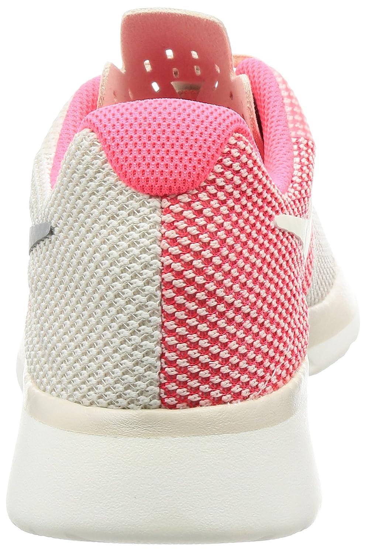 Womens WMNS Tanjun Racer Gymnastics Shoes, Beige (Lt Orewood BRN/Chrome-Sail-Solar Red), 3 UK Nike