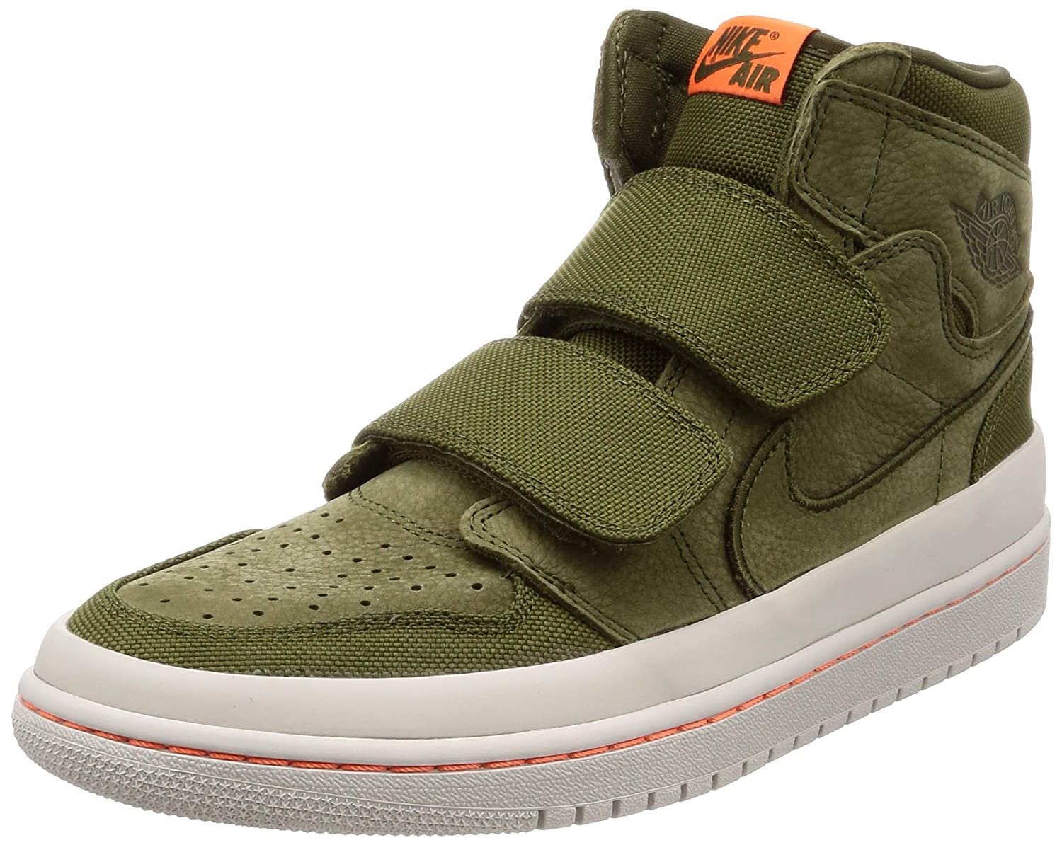 outlet store e5322 e6bf9 Amazon.com   Jordan Air 1 Retro High Double Strap   Basketball