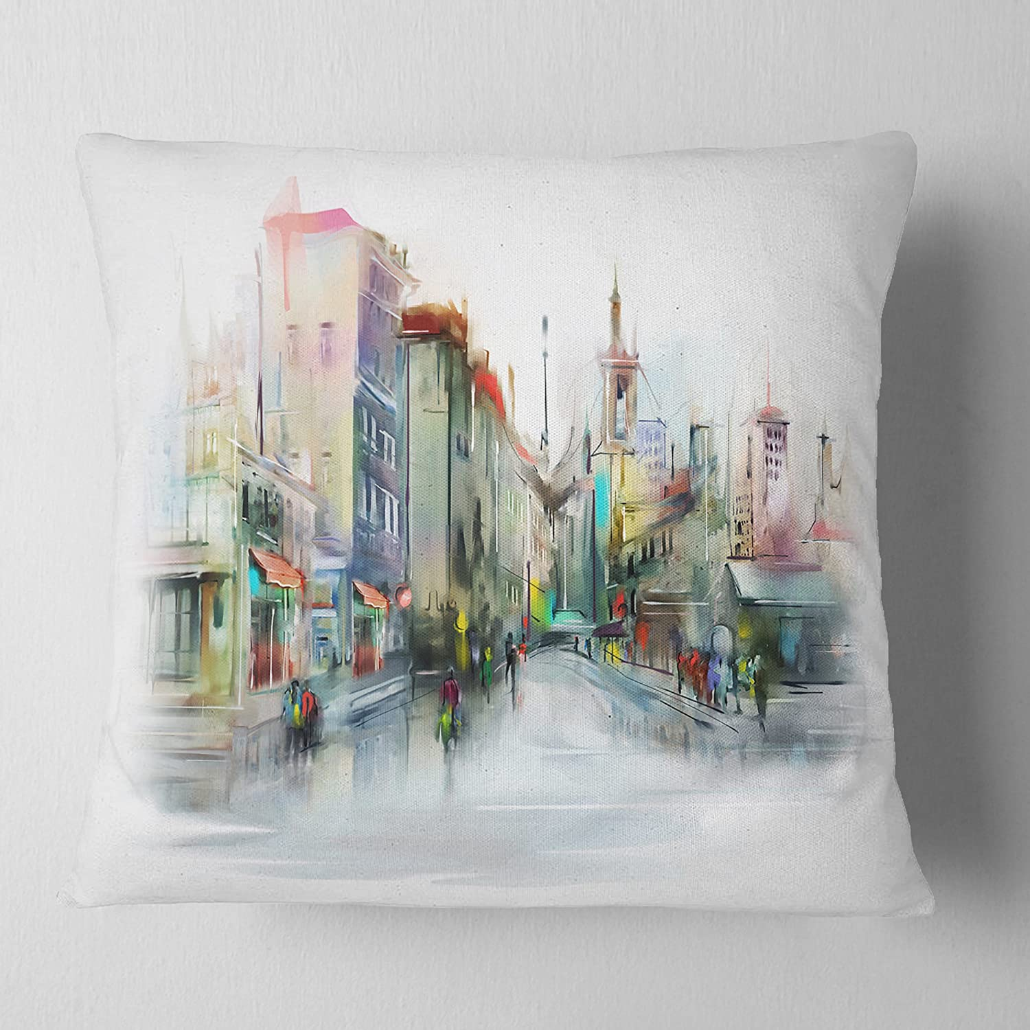 Artverse Katelyn Smith 20 X 20 Poly Twill Double Sided Print With Concealed Zipper Insert Missouri Watercolor Pillow Home Kitchen Throw Pillows