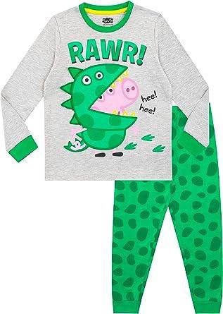Peppa Pig Pijama Entera para ni/ños George Pig